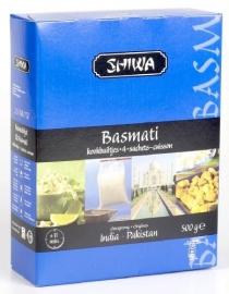 SHIWA basmati rijst in kookbuiltjes ; 4x125gr.