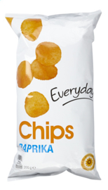 EVERYDAY  chips paprika  - 200 gr