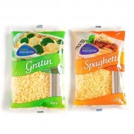Geraspte kaas  spaghetti of Gratin, naar keuze - 200 gr.