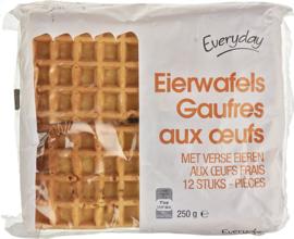 EVERYDAY  12 eierwafels - 250 gr