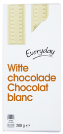 EVERYDAY  wite chocolade -  200 gr.