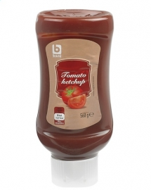 BONI SELECTION  tomatenketchup Top Down -  560 gr.
