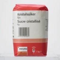 EVERYDAY fijne kristalsuiker - 1 kg.