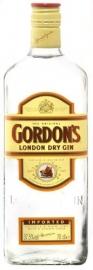 GORDON`S  London dry gin 37,5 % vol, 70 cl .
