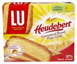 LU HEUDEBERT  geroosterd brood - 500 gr.