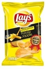 LAY`S  Joppie chips, snack met de bekende Joppie-saus, mieuw en Limited Editon !
