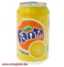 FANTA  Lemon limonade (blik) - 33 cl.