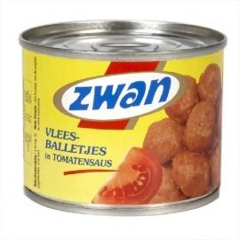 ZWAN balletjes in tomatensaus - 210 gr