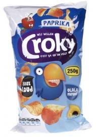 Croky  chips paprika, 250gr.