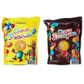 AMBIENTE ®  Chocopinda's of chocodragees - 400 gr