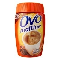 Ovomaltine Instantdrank met oa. gerst, mout en cacao - 400 gr.