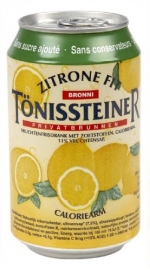 TONISSTEINER Zitrone Fit (blik) 33 cl