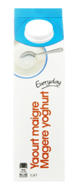 EVERYDAY  magere yoghurt  -  1 L