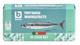 BONI SELECTION  makreelfilet in eigen nat - 90 gr.