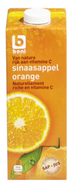 BONI SELECTION  sinaasappelsap geperst -  1L.