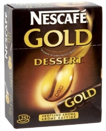 NESCAFE  Gold Dessert sticks - 25 stuks.