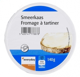 EVERYDAY  smeerkaas 8 porties - 140 gr.