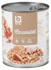 BONI SELECTION  cassoulet - 840 gr.