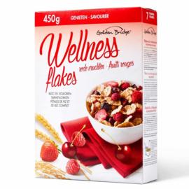 GOLDEN BRIDGE®  Wellness ontbijtgranen met rode vruchten  -  450 gr