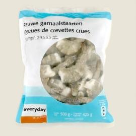 EVERYDAY rauwe garnaalstaarten - 500 gr. netto