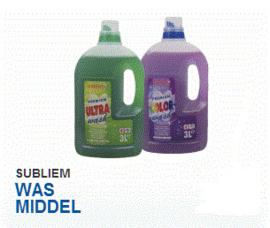 Subliem premium, wasgel, wasmiddel voor kleur - 3 Liter