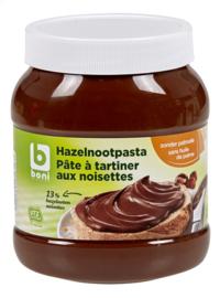 BONI SELECTION choco hazelnoot zonder palmolie utz  -  750 gr