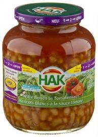 HAK witte bonen in tomatensaus 720 g