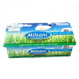 MILSANI  Magere natuuryoghurt, natuur - 8 x 125 gr.