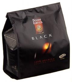 DOUWE EGBERTS Black koffiepads 24 stuks