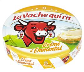 LA VACHE QUI RIT  emmental crème 8 porties  -  170 gr.
