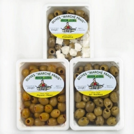 SIGNOR CEMPO - olijven mixed, assortiment 200 gr.