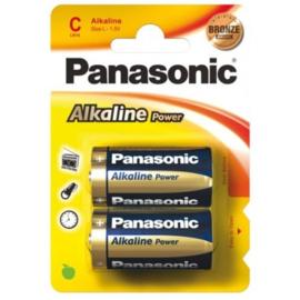 Panasonic  LR14, C alkaline batterijen - 2 stuks