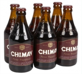 CHIMAY trappist (rood) 6 x 33 cl