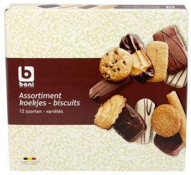 BONI SELECTION  koekjesassortiment  - 500 gr