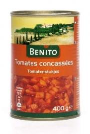 BENITO tomatenstukjes - 400 gr