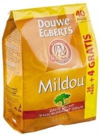DOUWE EGBERTS Mildou 36 pads + 4 gratis