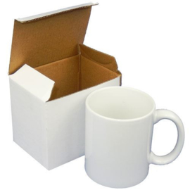 Koffietas, MUG, coffee  -  1 stuk