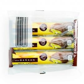 AMBIENTE®  Gevulde chocoladerepen banaan- 3 x 46 gr.