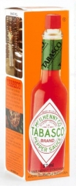 "Tabasco (Mc ilhenny)  Rood - pikante rodepepersaus - ""The Original"", 57 ml."