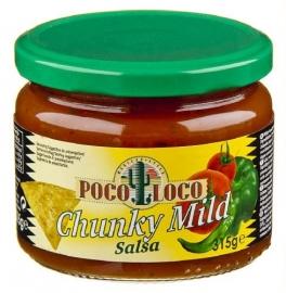 POCO LOCO  Chunky Mild Salsa dipsaus - 315 gr