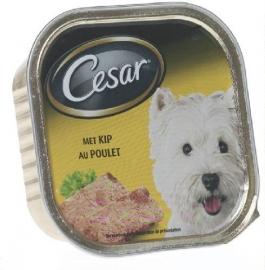 CESAR hondenvoer  met kip (in alu-schaaltje) - 300 gr
