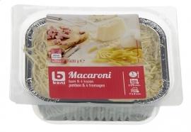 BONI SELECTION  macaroni ham 4 kazen, quatro formaggi  - 400 gr.