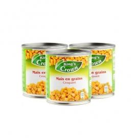 KING'S CROWN®  Zoete maïs - per 3 stuks - 3 x 150 gr.