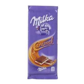 MILKA  Caramel melkchocolade - 100 gr.