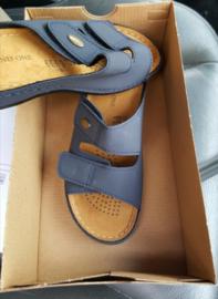 Sandalen met velcro strips, maat 38