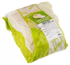 WIT BROOD VIERKANT verpakt - 400 gr.