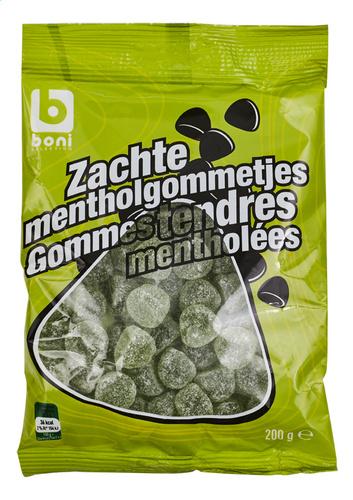 Boni Selection, Snoep Gesuikerde muntjes  -  200 gr