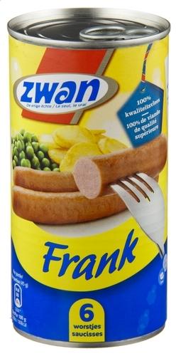 ZWAN 6 worsten Frank NEW - 270 gr.