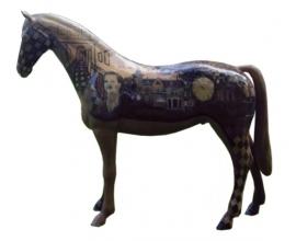 Zorgvilla Huize Dahme - Kunstpaard by Loeviera