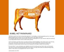 Parapaard - Kunstpaard by Loeviera